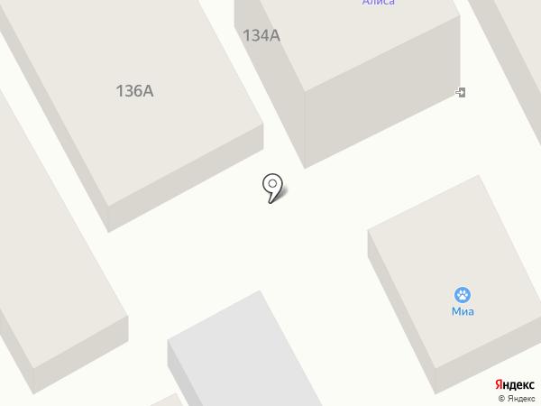 Клевый на карте Анапы