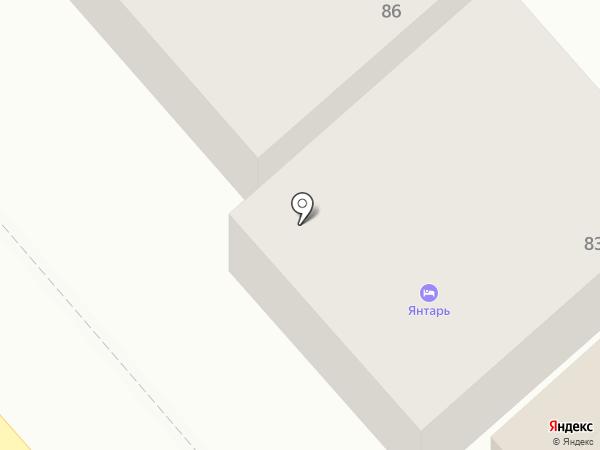 Пятёрочка на карте Анапы