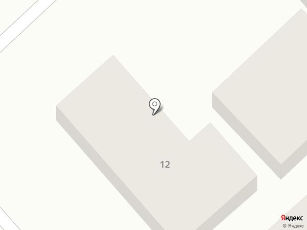 На Лазурной, 12 на карте Анапы