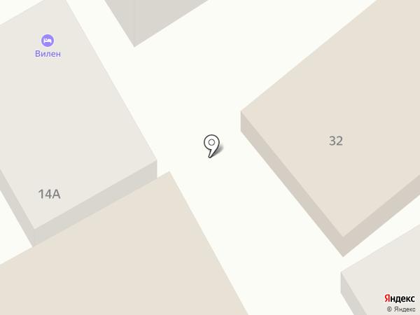 Лучезарный на карте Анапы