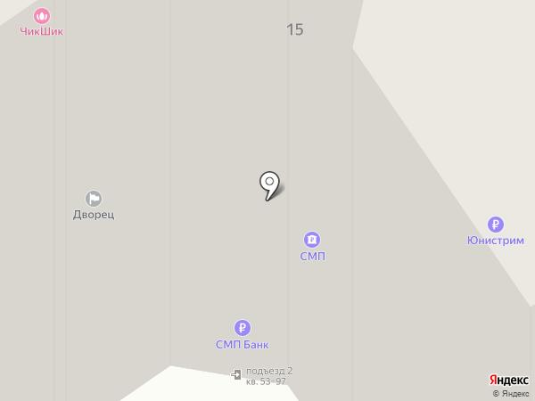 Инико на карте Одинцово