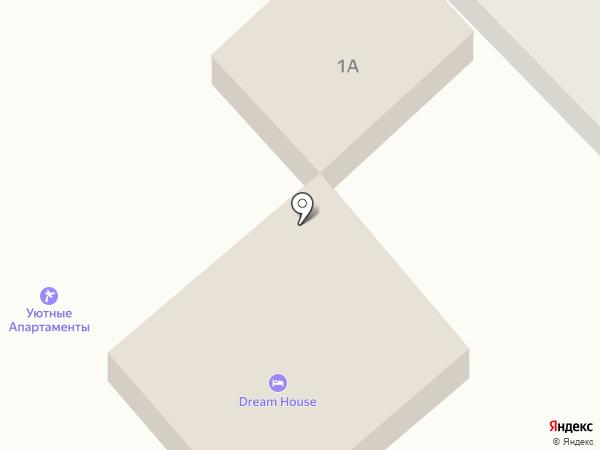 Вианна на карте Анапы