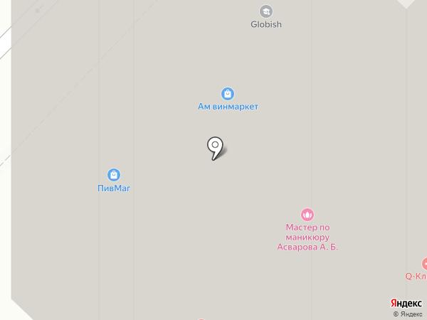 Магазин разливного пива на карте Красногорска