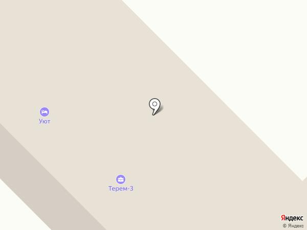 Терем-3 на карте Юрлово