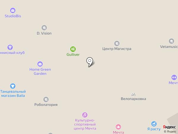 Мечта-М на карте Одинцово