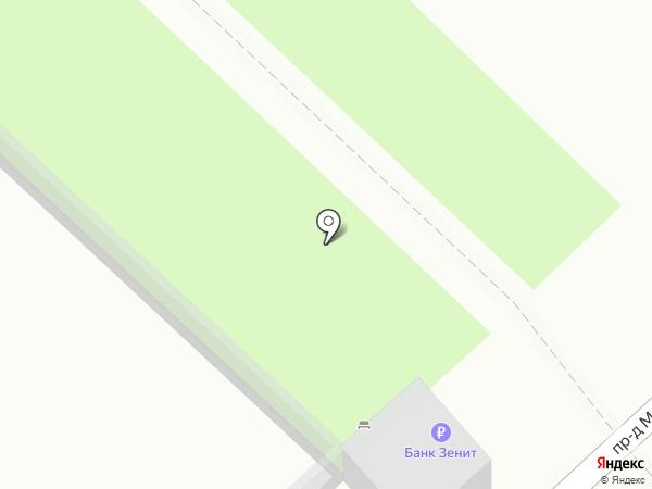 Банкомат, Банк ЗЕНИТ Сочи на карте Анапы
