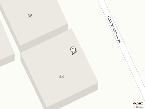 Ариэль на карте Анапы