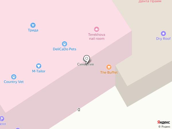 Флексис на карте Одинцово