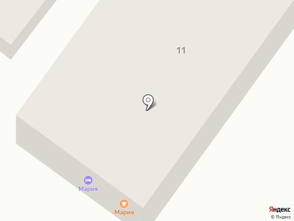 Мария на карте Анапы
