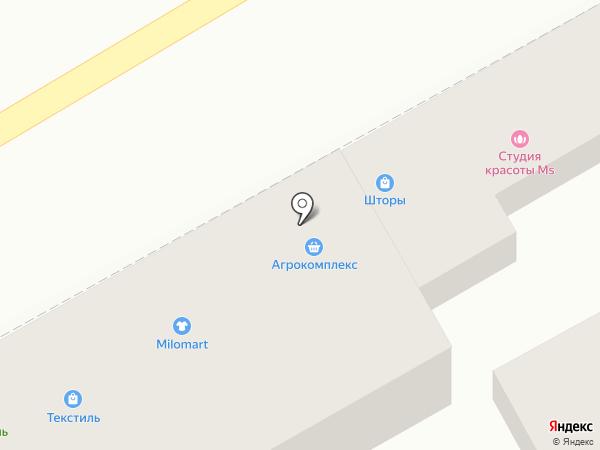 Мустанг на карте Анапы