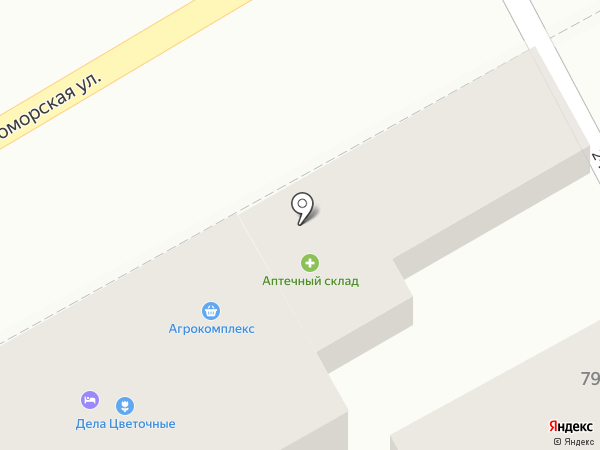 Номос на карте Анапы