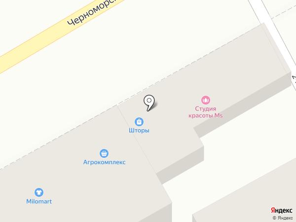 Глория Мебель на карте Анапы