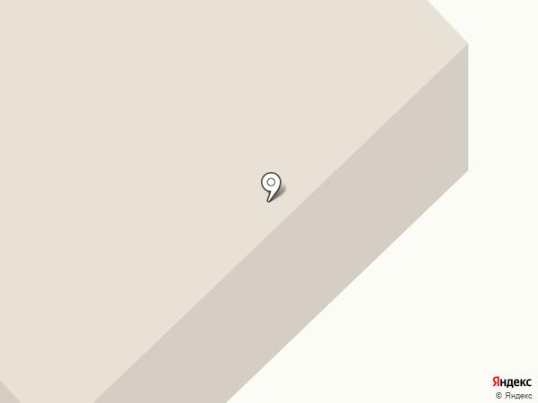 Черноморец на карте Анапы