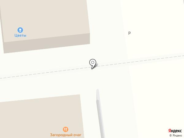 Цветаева на карте Одинцово