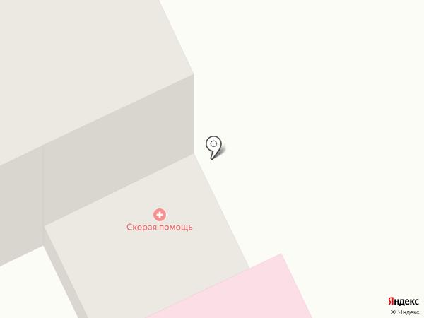 Скорая медицинская помощь на карте Анапы