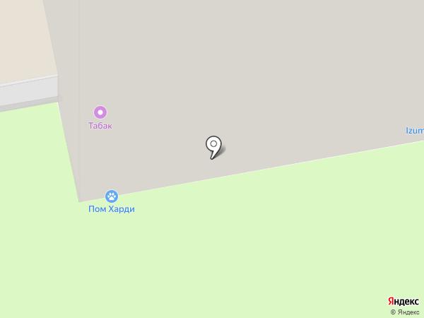 Отверткин на карте Красногорска