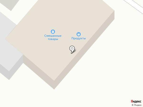 Продуктовый магазин на карте Елино