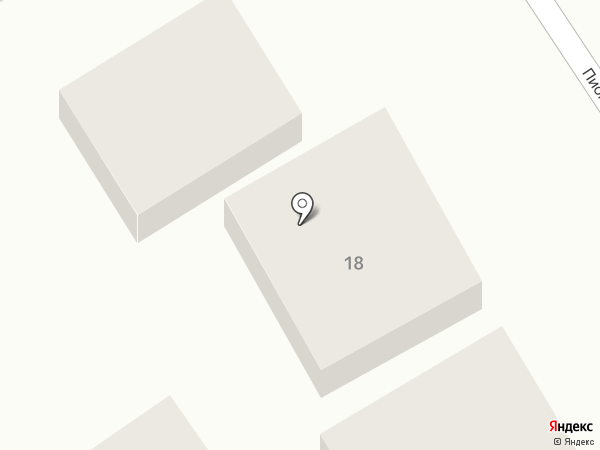 Почтовое отделение №47 на карте Анапы
