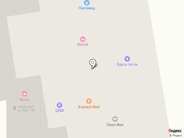 Кадр на карте Красногорска