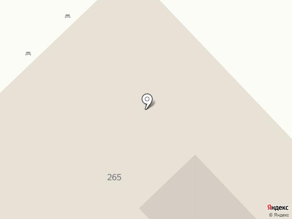 Лазурный Берег на карте Анапы