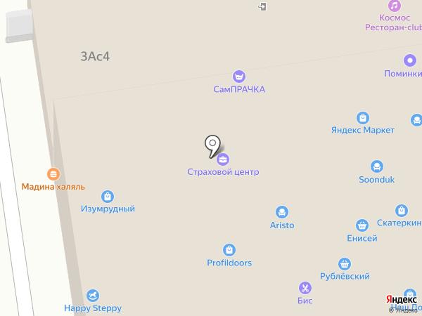 Марчелла на карте Красногорска