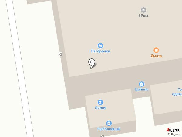 Изумрудный на карте Красногорска