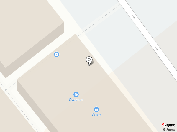 Судачок на карте Одинцово