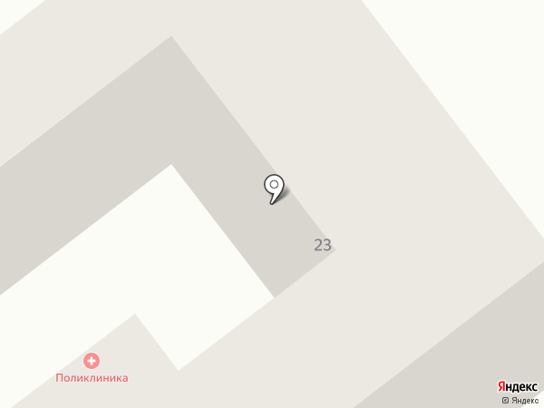 Амбулатория №8 на карте Анапы