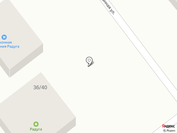 Радуга на карте Анапы