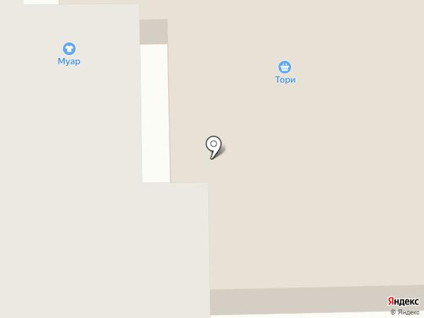 Муар на карте Барвихи