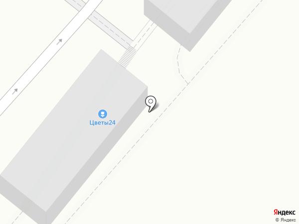 Цветочный магазин на карте Одинцово