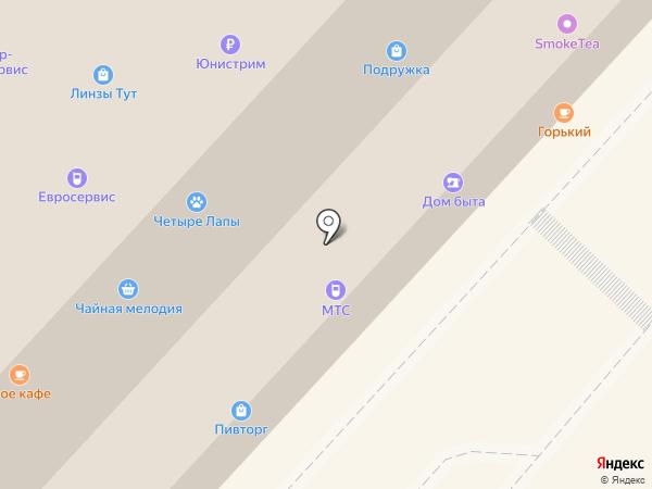 Евросервис на карте Одинцово
