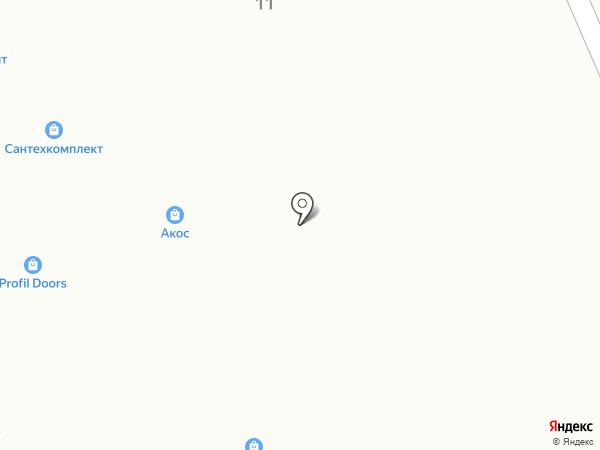 Ворота-24 на карте Одинцово