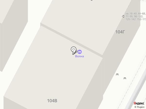 Катран на карте Анапы