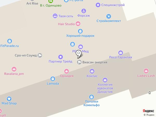 Экотелеком на карте Одинцово