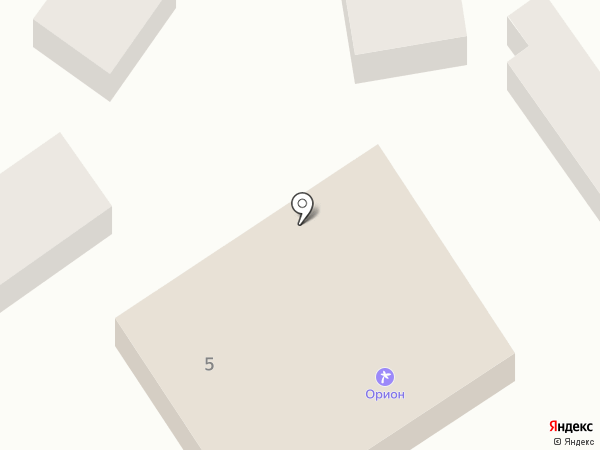 Орион на карте Анапы