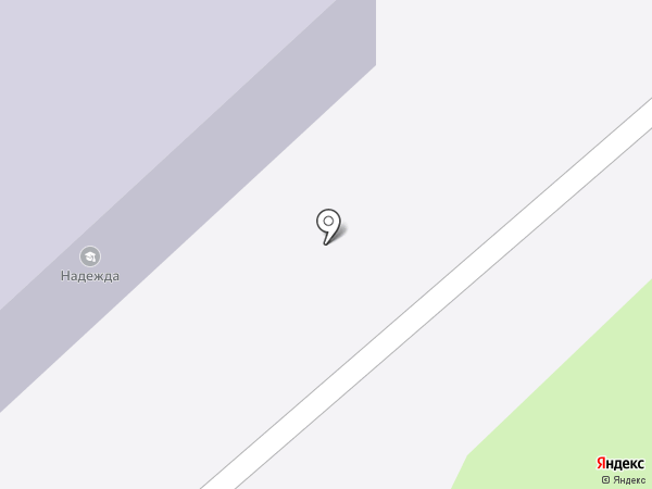 Надежда на карте Одинцово