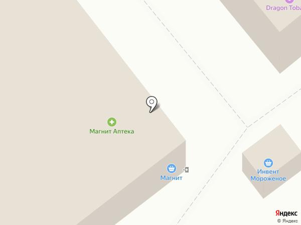 Магнит на карте Одинцово