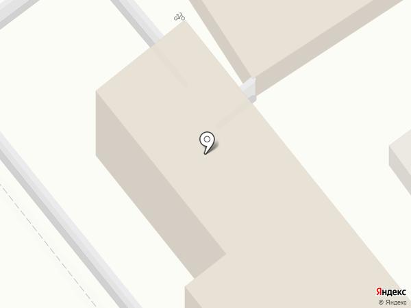 Вилла Валерия на карте Анапы