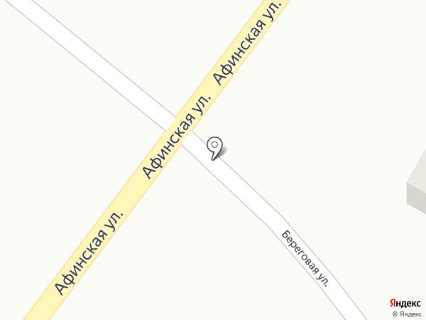 Изабелла на карте Анапы