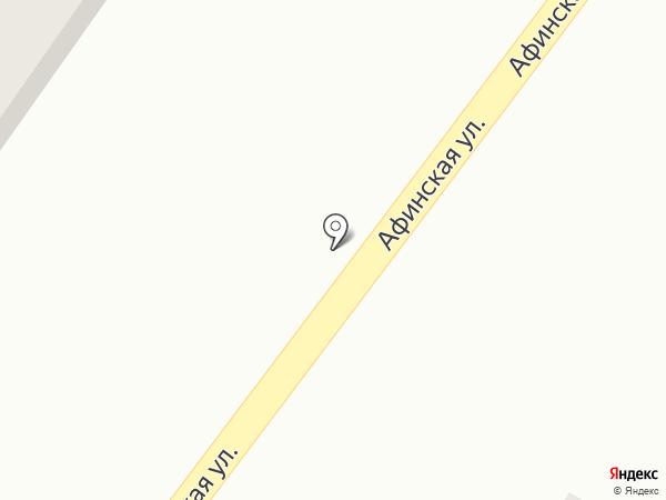 Продуктовый киоск на карте Анапы