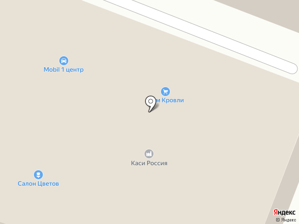Дом кровли на карте Химок