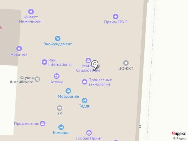 Московский Индустриальный Банк на карте Красногорска