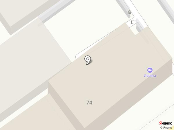 Иволга на карте Анапы
