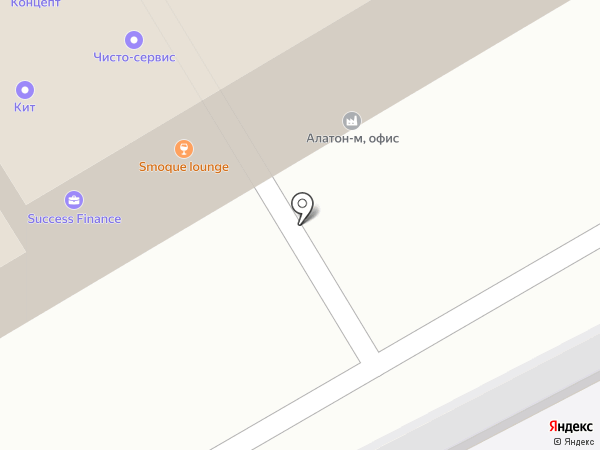 Август на карте Одинцово