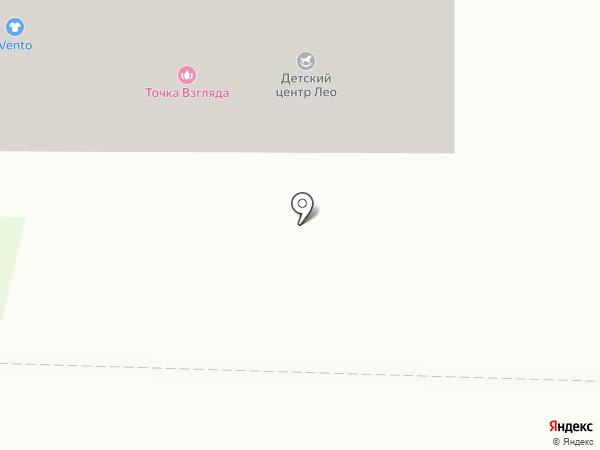 Лео на карте Красногорска