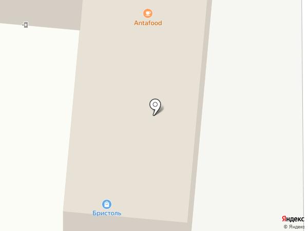 Бристоль на карте Одинцово