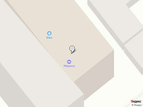 Обжорка на карте Анапы