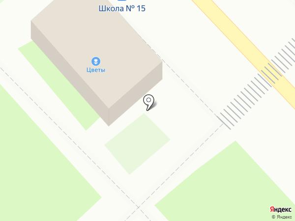 Магазин цветов на карте Красногорска