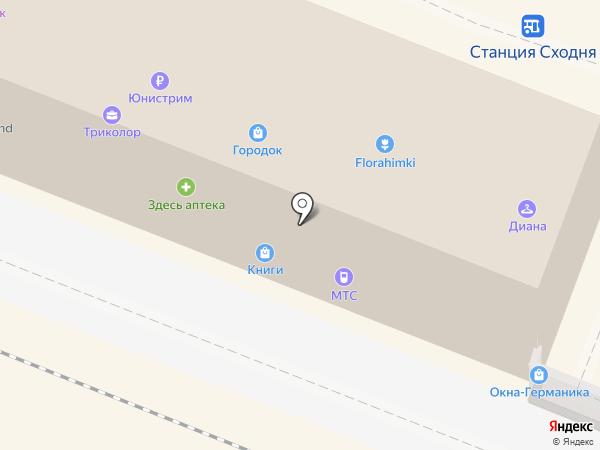 ИФК на карте Химок